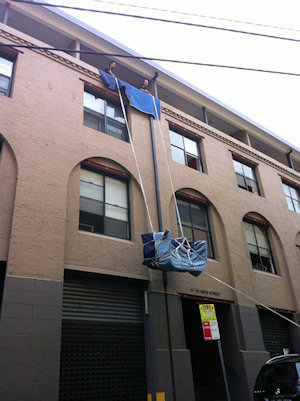 Balcony lift - Chippendale, Sydney