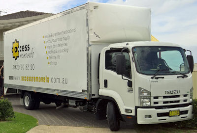 Removalist truck for larger moves